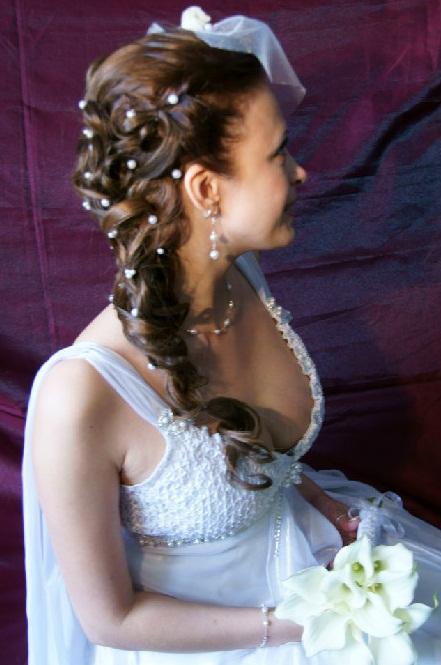 свадебные прически и аксессуары в омске